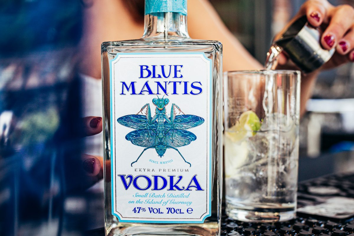 Blue Mantis Vodka